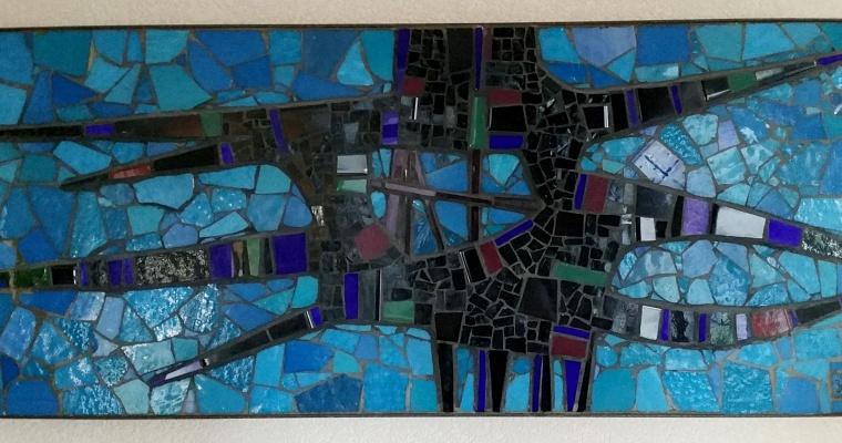 Jan Olivier mosaïc art 1963