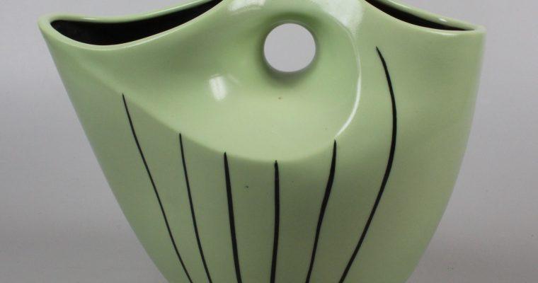 Wim Visser Sphinx 1950's New Look vase