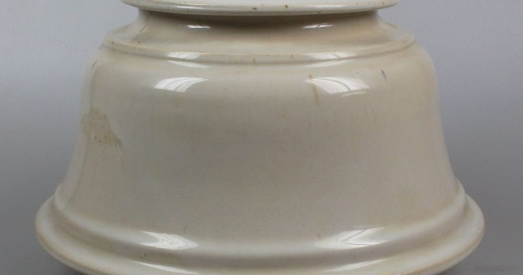 Gert de Rijk pot with lid 1987