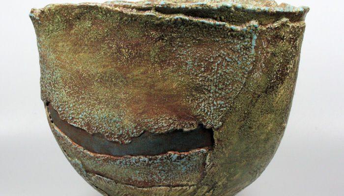 Hans de Jong large bowl 1988