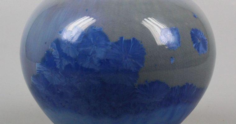 André Vaerewijck vase crystalline glaze