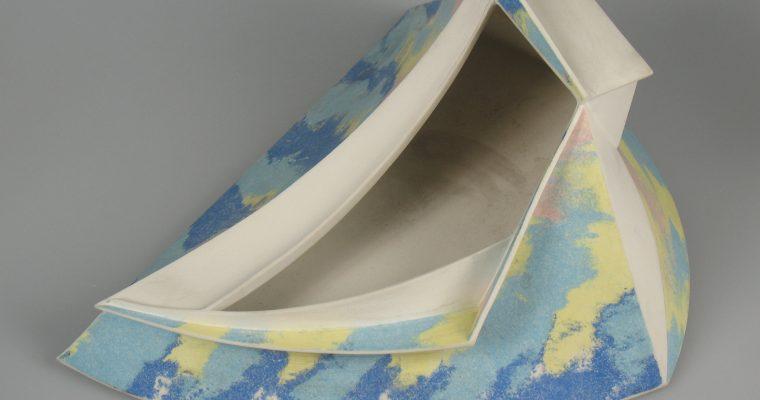 Saskia Koster porcelain vessel