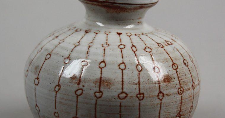 Annie de Boer Holten art pottery vase