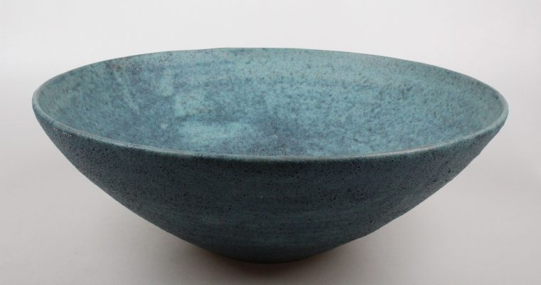 Guy van Hardenbroek large art pottery bowl