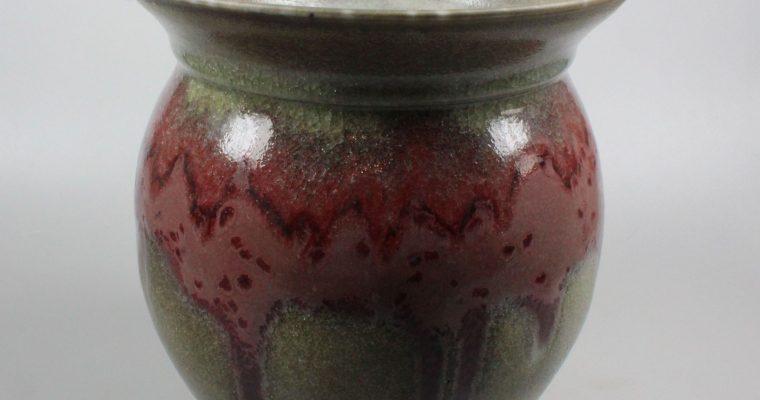 Han Boerrigter large porcelain vase