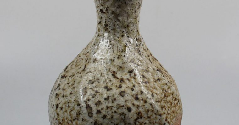 Ruthanne Tudball soda glazed stoneware vase