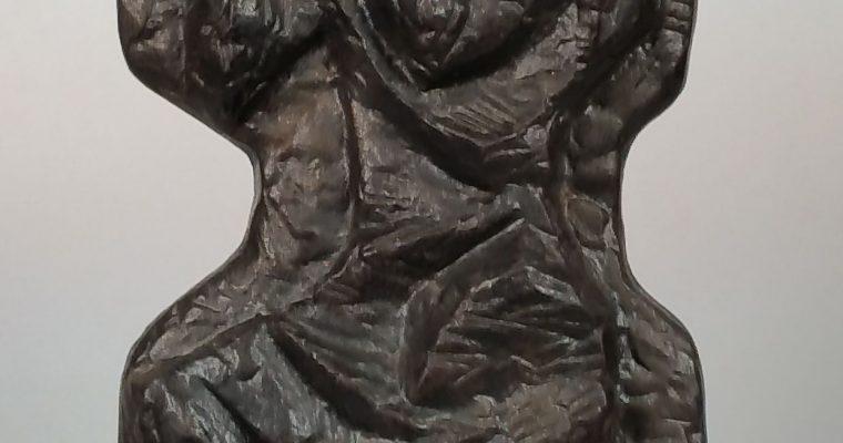 Cor Dam cast iron plaque Doetinchemse ijzergieterij