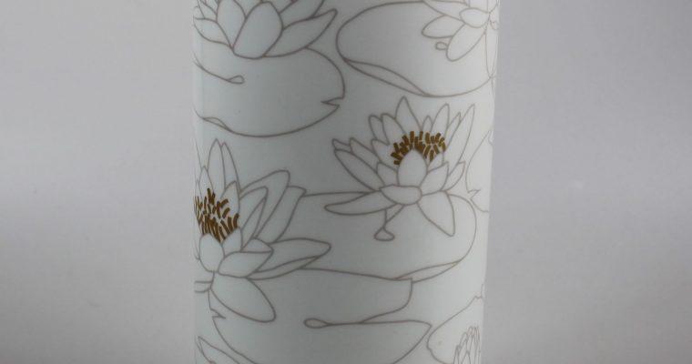 Rosenthal Studio Line porcelain vase water lilies