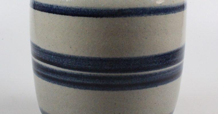 Meindert Zaalberg 1950's art pottery vase