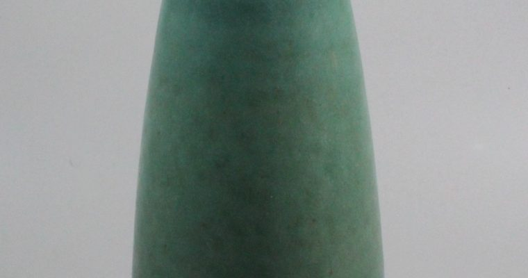 Hyllested art pottery vase