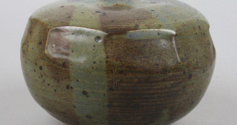 Myriam Vissers studio pottery vase 1970's