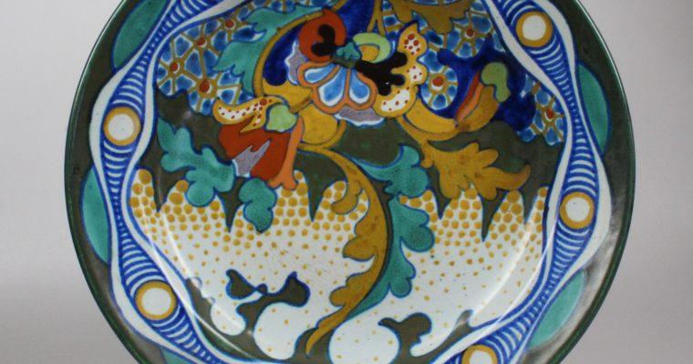 Plateelbakkerij Zuid-Holland plate Corona pattern