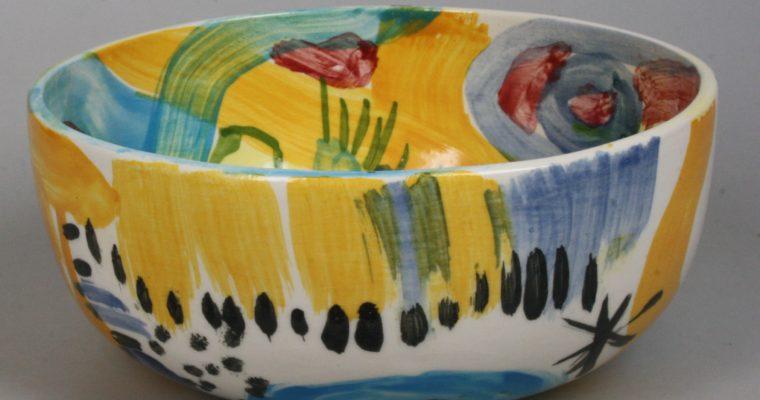 Kees Oxs and Helène van Dongen art ceramics