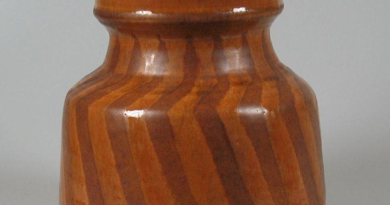 Henny Radijs studio pottery vase 1972