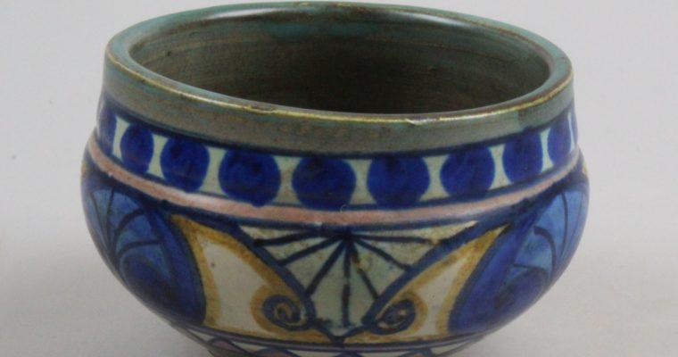 Plateelbakkerij Zuid-Holland early Damascus cactus pot