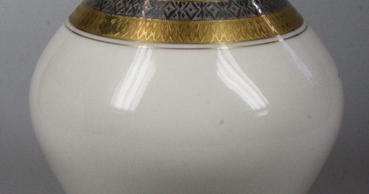 Lindner mid-century porcelain vase