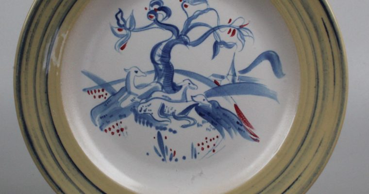 Sphinx  Maastricht wall plate Serpenti 1931