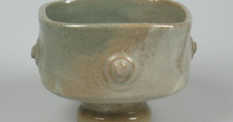Gerda Wijmans studio pottery bowl 1980's