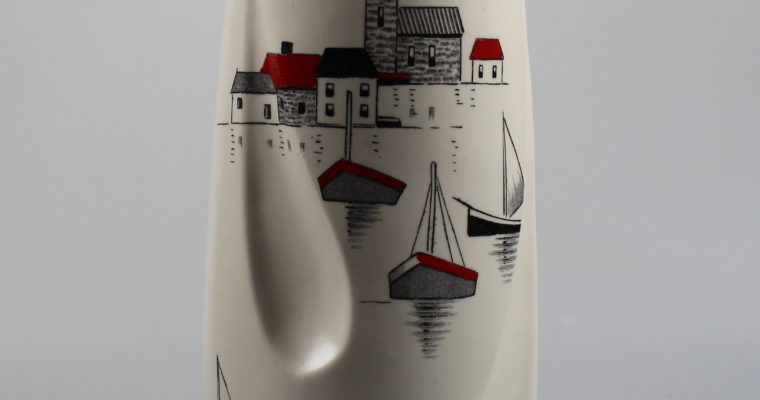 Burleigh Ware England vase New Look style