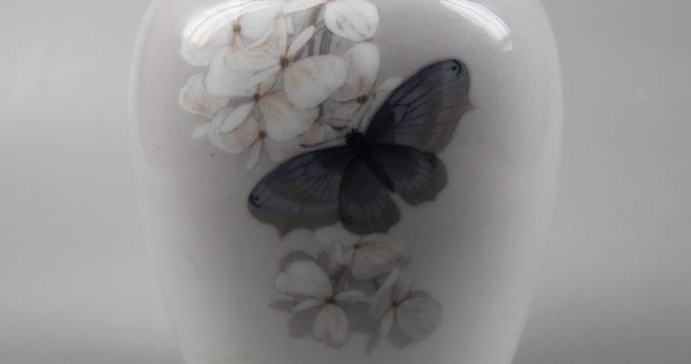 Royal Copenhagen art nouveau vase