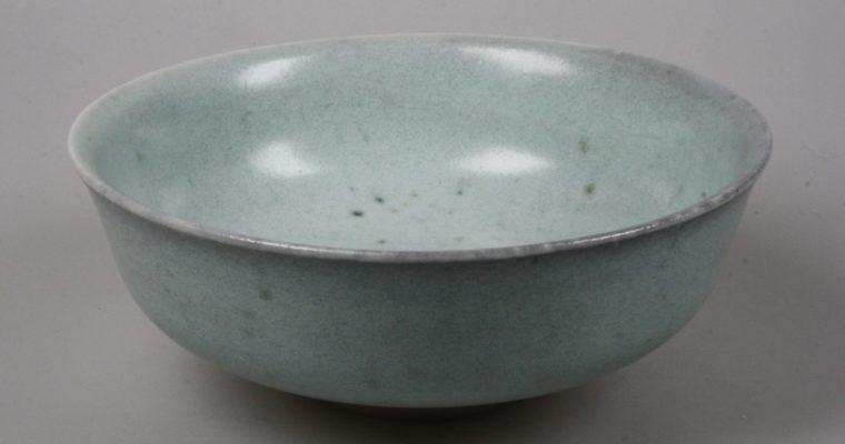 Jan de Rooden porcelain art pottery bowl