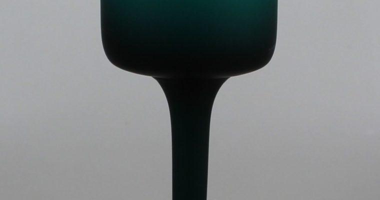 Carlo Moretti green satinato tumbler Murano