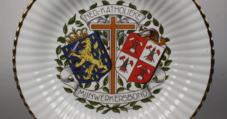 MOSA plate Nederlandse Katholieke Mijnwerkersbond