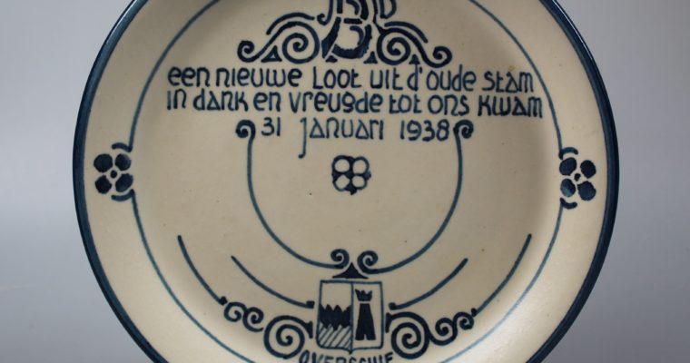 R.A.F. commemorative plate Beatrix 1938
