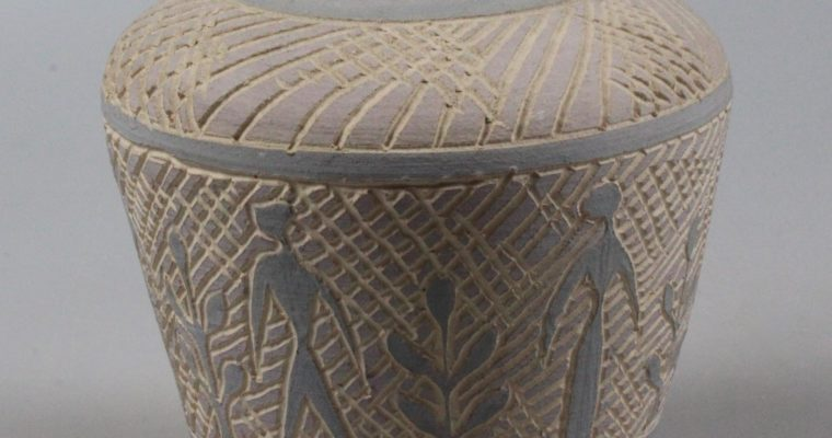 Olga Oderkerk mid-century vase 1956