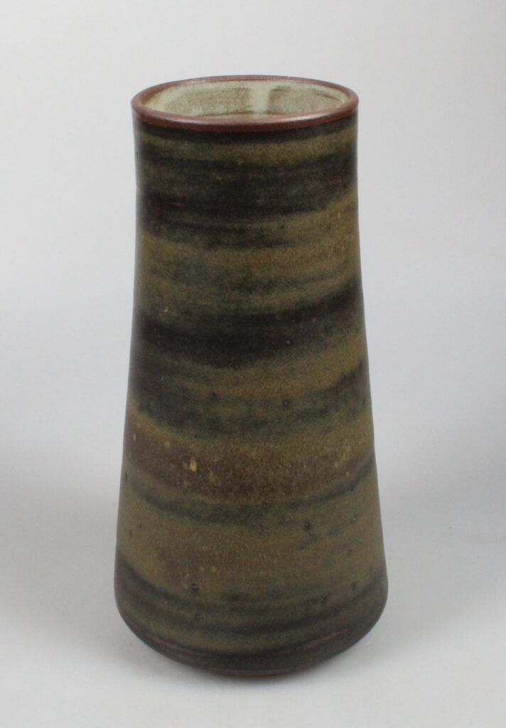 Derk Holman art pottery vase