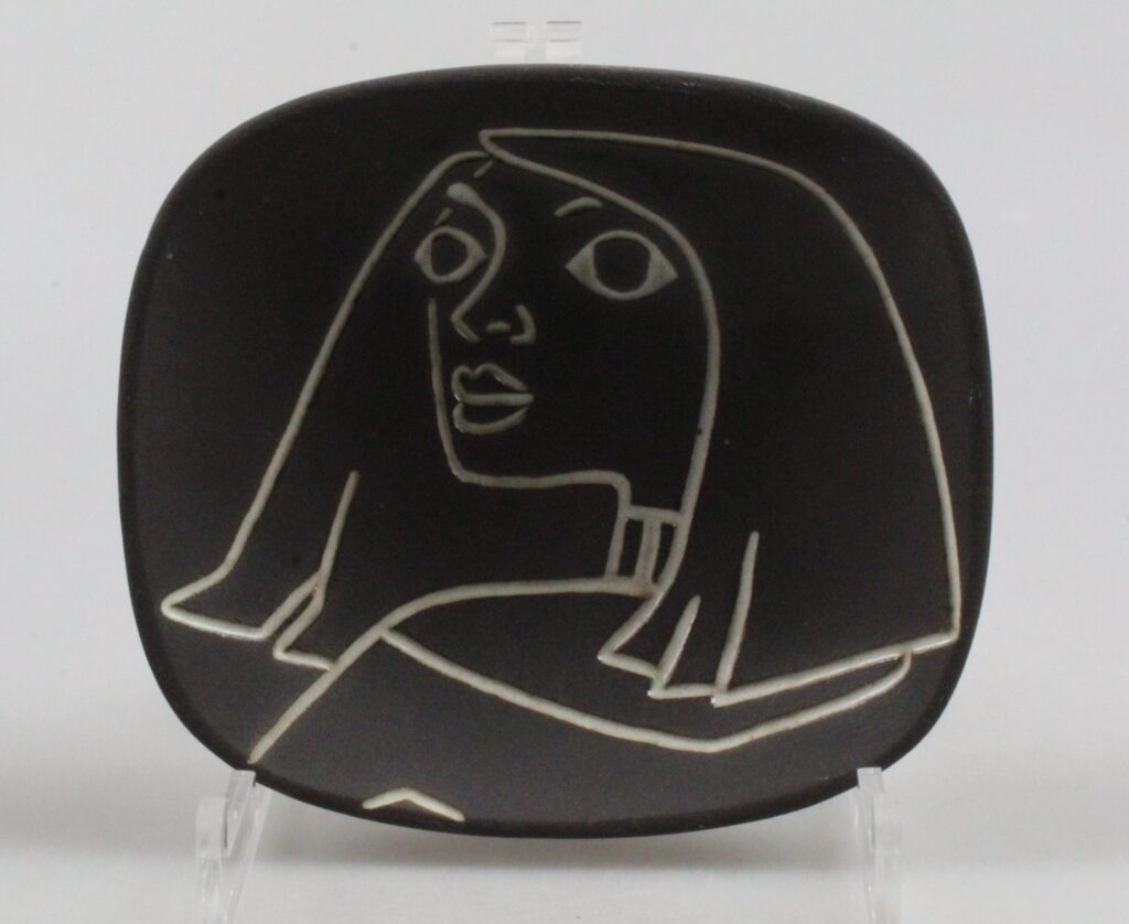 Jaap Ravell wall plate 1950's