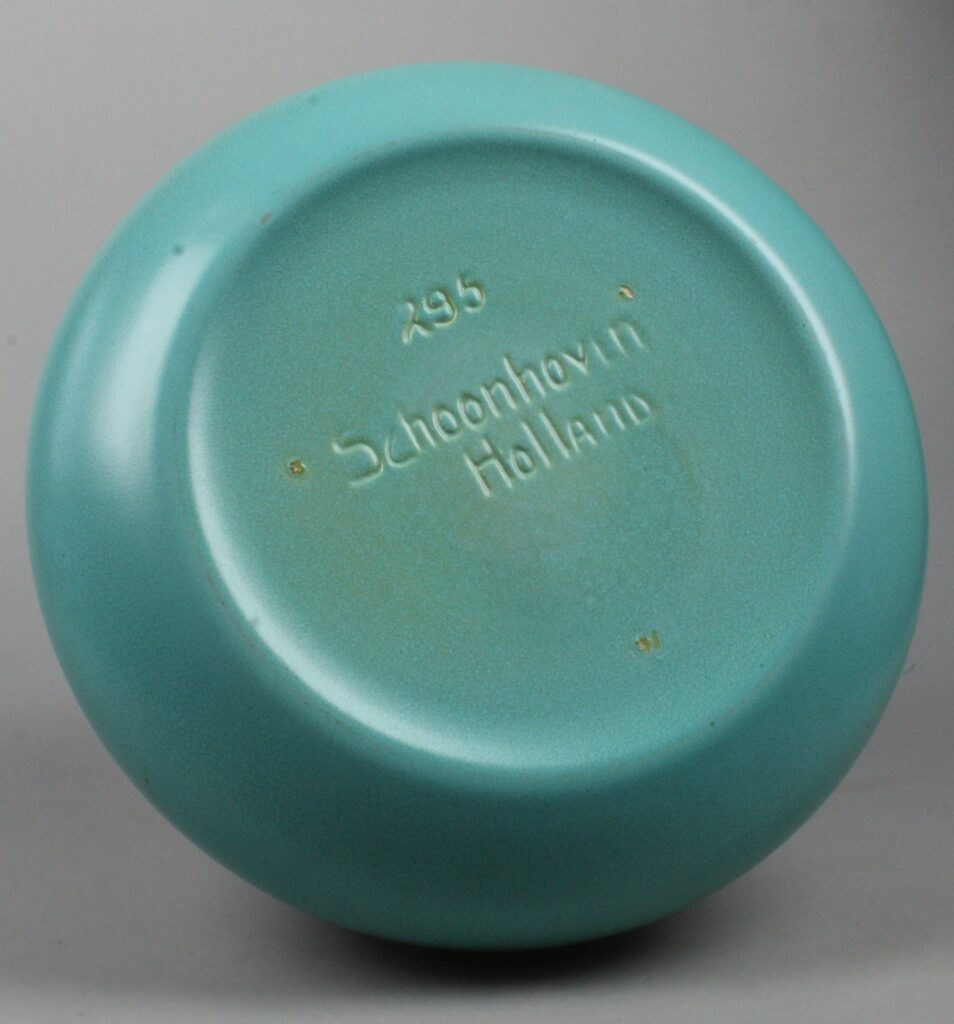 Plateelbakkerij Schoonhoven art deco vase