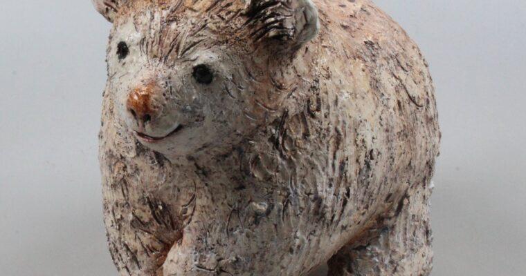 Eva Jorritsma-Thöne studio pottery bear cub