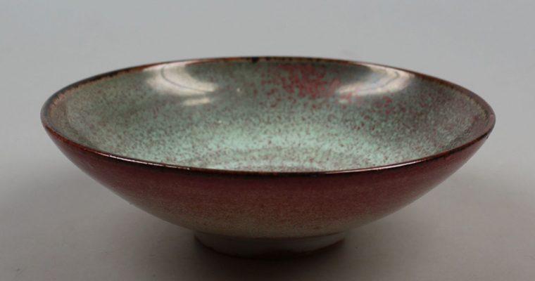 Meindert Zaalberg Ommen art pottery bowl
