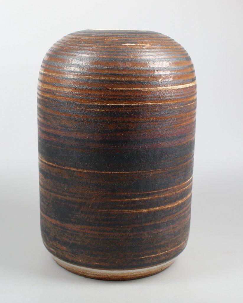 Meindert Zaalberg Ommen large art pottery vase