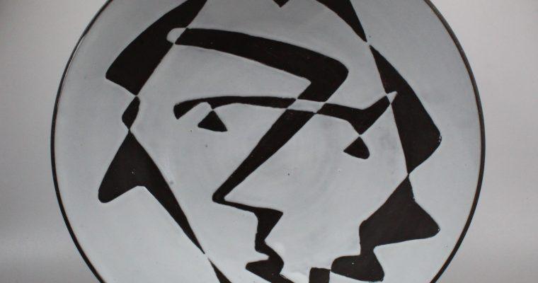 Ru de Boer for Zaalberg large plate