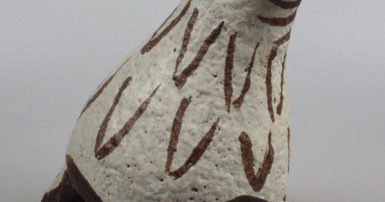 Jan van Stolk mid-century bird sculpture