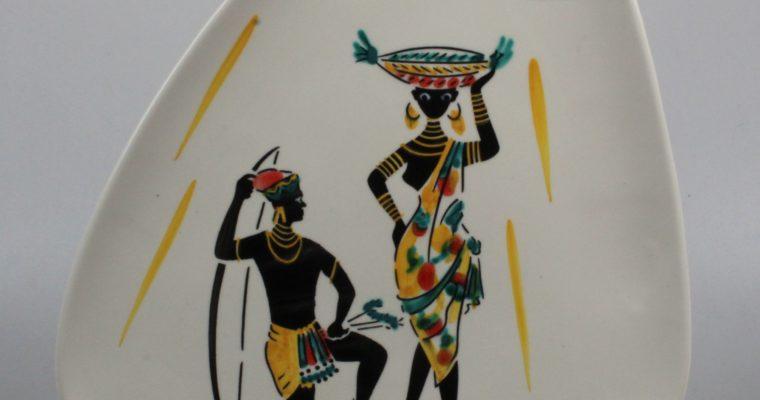 Schmider Keramik Zell 1950's Anneliese Beckh