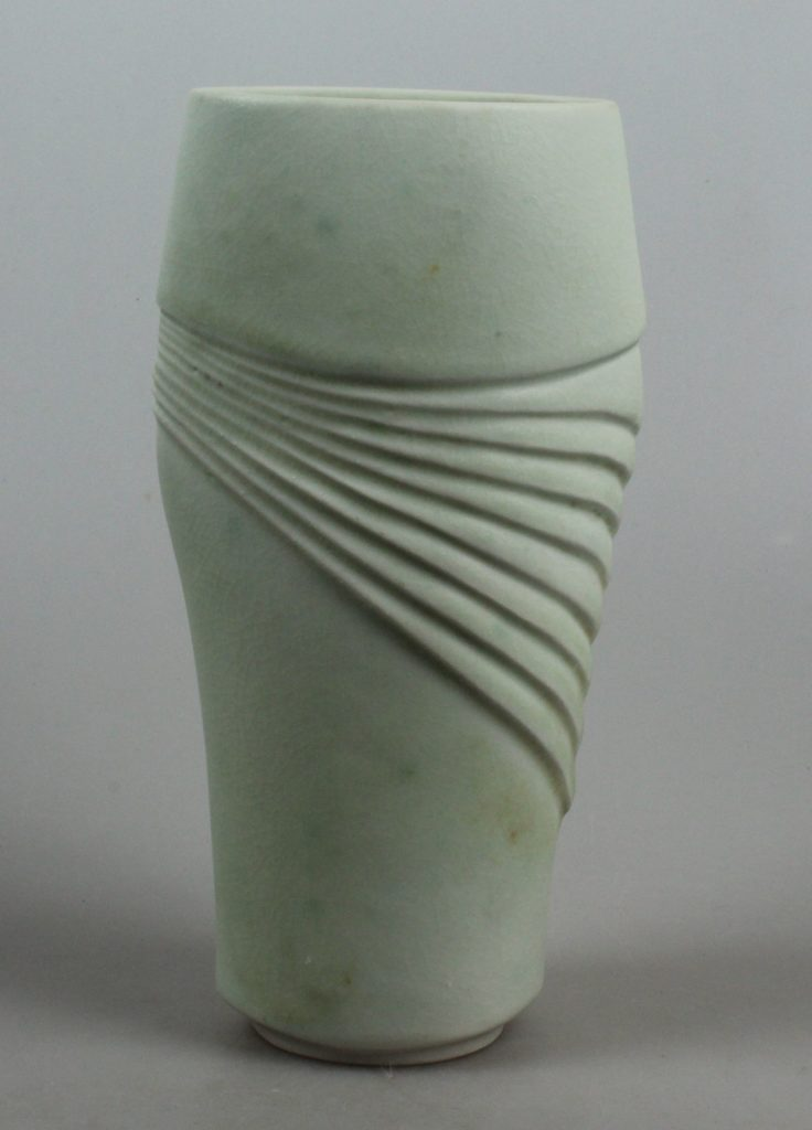 Gerburg Karthausen slender porcelain vase