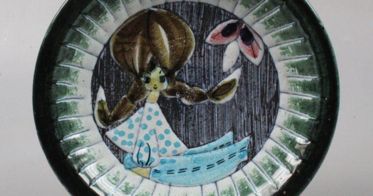 Tilgman Keramik Eivor Lang art pottery dish