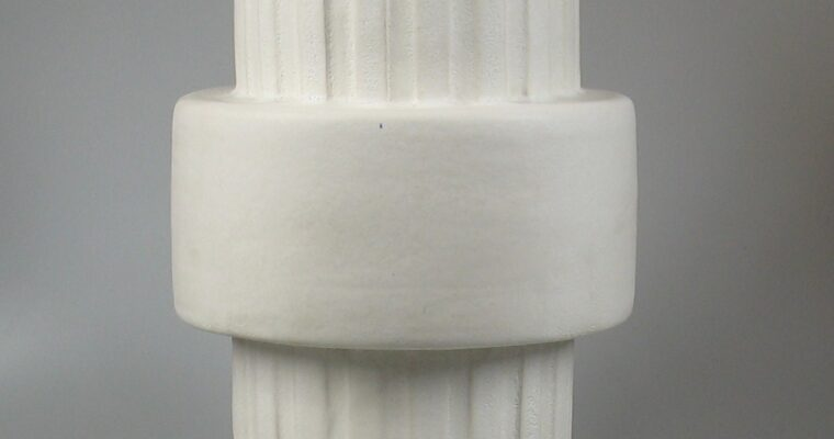 Henny Radijs large ceramic column