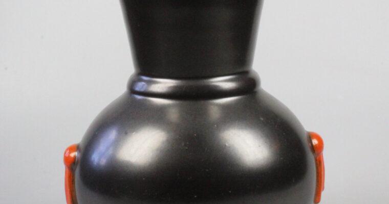 Upsala Ekeby art deco vase