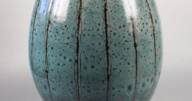 Johan Broekema large studio pottery vase