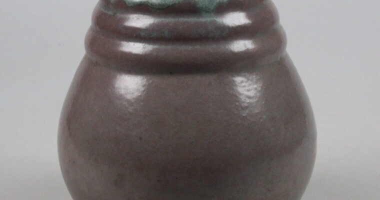 De Liliputter Putten art deco vase