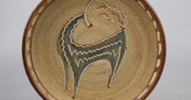 Jan van Stolk wall plate stylized Chamois