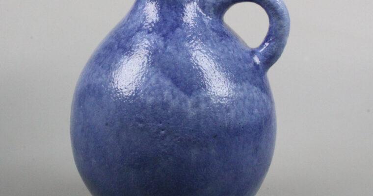 Zaalberg De Rijn blue art deco pitcher