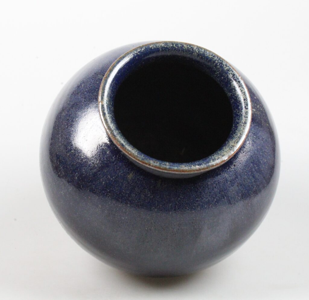 Iet Cool-Schoorl blue art pottery vase